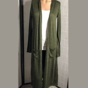 Agnes and Dora Green Duster